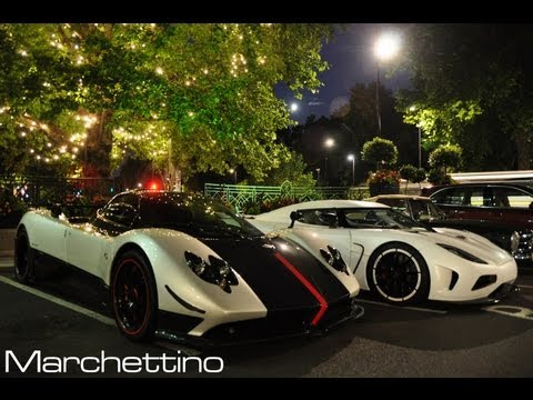 Best of Supercars Sounds in London!