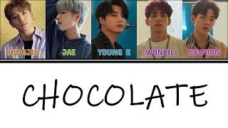 Color Coded Day6 하지 말라면 더 하고 19 Want More 19 Ost Chocolate