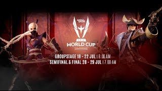 AOV World Cup (AWC) Group Stage Day 3 - Garena AOV