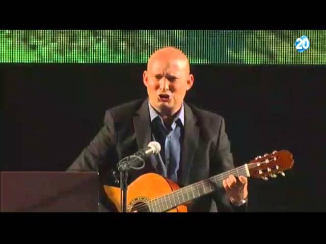 Bennett sings Jerusalem of Gold