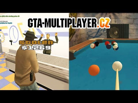 GTA San Andreas Multiplayer | GTA-MP.cz Server Trailer