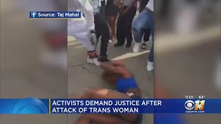 Calls For Justice In Dallas After Transgender Woman Attacked
