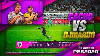 CACHO VS DJMARIIO EN PES 2020!!!