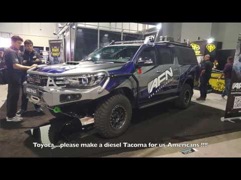 Toyota diesel 4x4 HILUX by AFN :SEMA 2016