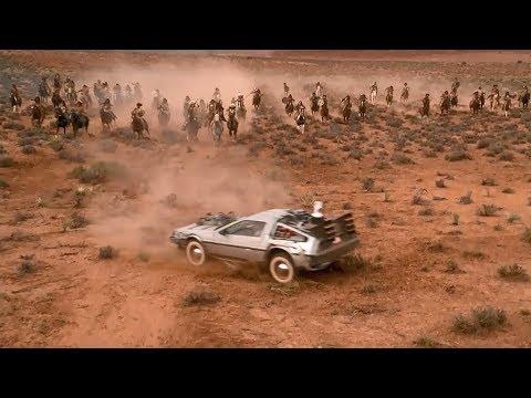【宇哥】少年駕駛跑車穿越到1885年,遭遇大批印第安人圍攻:高分科幻片《回到未來 第三集》