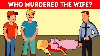 10 CRIME RIDDLES TO TEST YOUR LOGICAL REASONING SKILLS