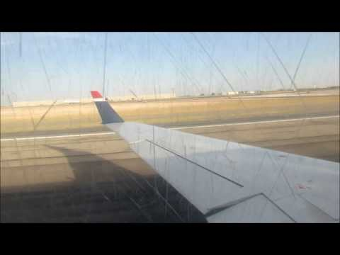 US Airways Express CRJ-200 Nice Take off from El Paso Intl