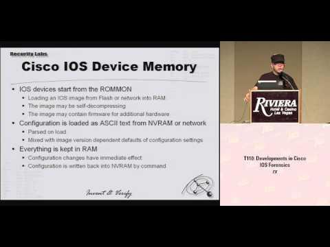 DEF CON 16 - FX: Developments in Cisco IOS Forensics