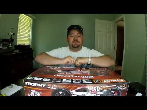 HPI Trophy Truggy 4.6 unboxing