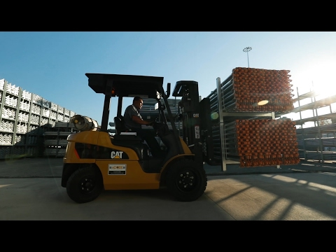Cat® Lift Trucks Customer Review: GP25N IC Pneumatic Tire Forklift