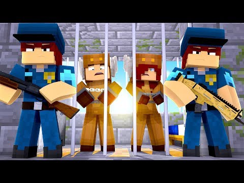 Minecraft Daycare - BABY GIRLFRIEND GETS ARRESTED! w/ MooseCraft (Minecraft Kids Roleplay)