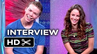 The Maze Runner Interview - This Or That? (2014) - Will Poulter, Kaya Scodelario Movie HD