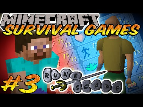 Minecraft: The Survival Games - Bonus Round 2 Varrock Map - Setosorcerer POV
