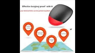 K9 Bicycle GPS Tracker 30Days Long Standby Time LED Light Free Web APP Tracking