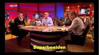 René van der Gijp: Co Adriaanse staat steeds voor lul (Voetbal International)