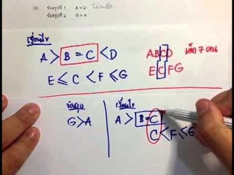 คลิปทำข้อสอบภาค ก 80 ข้อ (คลิปที่ 10-ทำข้อสอบเงื่อนไขสัญลักษณ์)