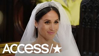 Prince Harry Helped Meghan Markle Pick Out Her Wedding Tiara With The Queen | Access
