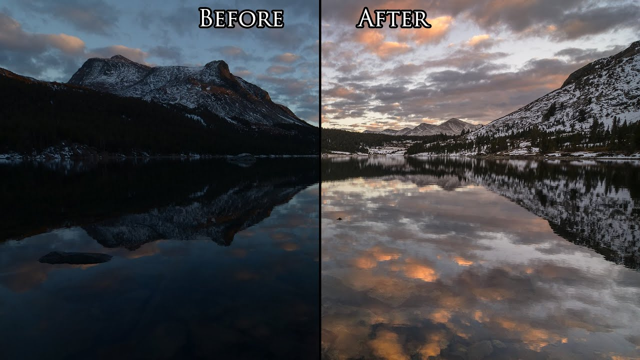 Landscape Photoshop Tutorials Photoshop Landscape Photos in