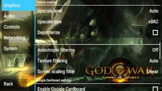 Android PPSSPP Best Settings God Of War(GoS)