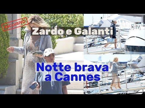 Raffaella Zardo e Claudia Galanti, notte brava a Cannes