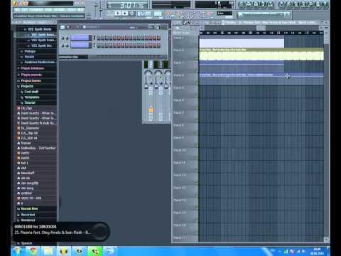 Сведение треков в FL Studio часть первая | DJ GoldenLion