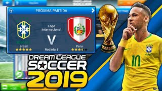 How to Play World Cup In Dream League Soccer 2019 (No Root)