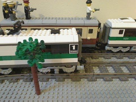 LEGO Train Chase - LEGO Police Chase Part 2