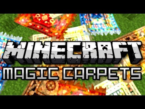 Minecraft: Magic Carpet Mod!