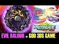 BEYBLADE BURST GOD 3DS GAME-GAMEPLAY UNBOXING/REVIEW