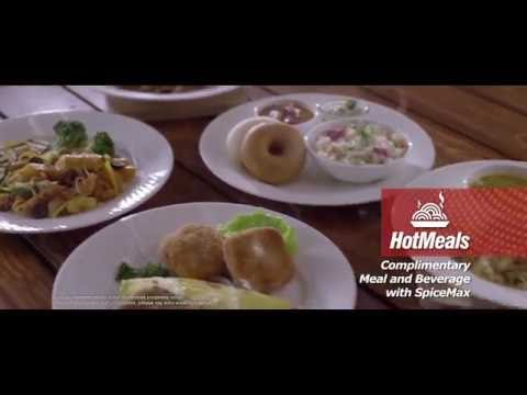 SpiceJet TVC -  Hot Meals