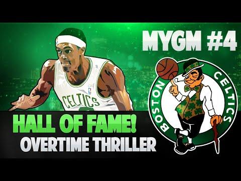 NBA 2K15 My GM Mode Ep.4 - Boston Celtics | Hall of Fame + Overtime Thriller! | PS4