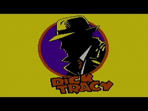 Dick Tracy - NES Gameplay