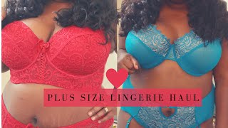 PLUS SIZE LINGERIE HAUL Feat. Adore Me  (Vday Haul Part 1)
