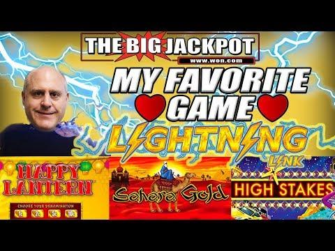 I ❤️4 BIG JACKPOT$ on My FAVORITE GAME! ⚡LIGHTNING LINK ⚡PAY$ HUGE!