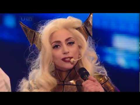 [HQ] Lady GaGa - Bad Romance [Live @ X Factor 2009] Intro & Interview Music Videos