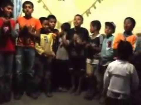 Nepali Children sing for Hope