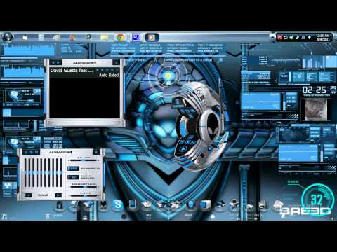 Desktop Setup - May 2011 (GUI Breed. Bluevision. Ironman. Objectdock)