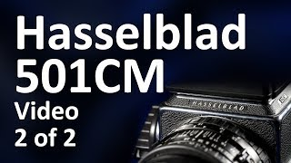 Hasselblad 501CM Video Instruction Manual 2 of 2