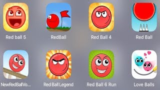 Red Ball 5,Red Ball,Red Ball 4,Red Ball Classic,Red Ball New,Red Ball Legend,Red Ball 6 Run