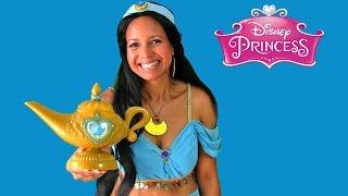 Disney Princess Aladdin Magic Genie Lamp With Princess Jasmine ! || Disney Toy Reviews || Konas2002