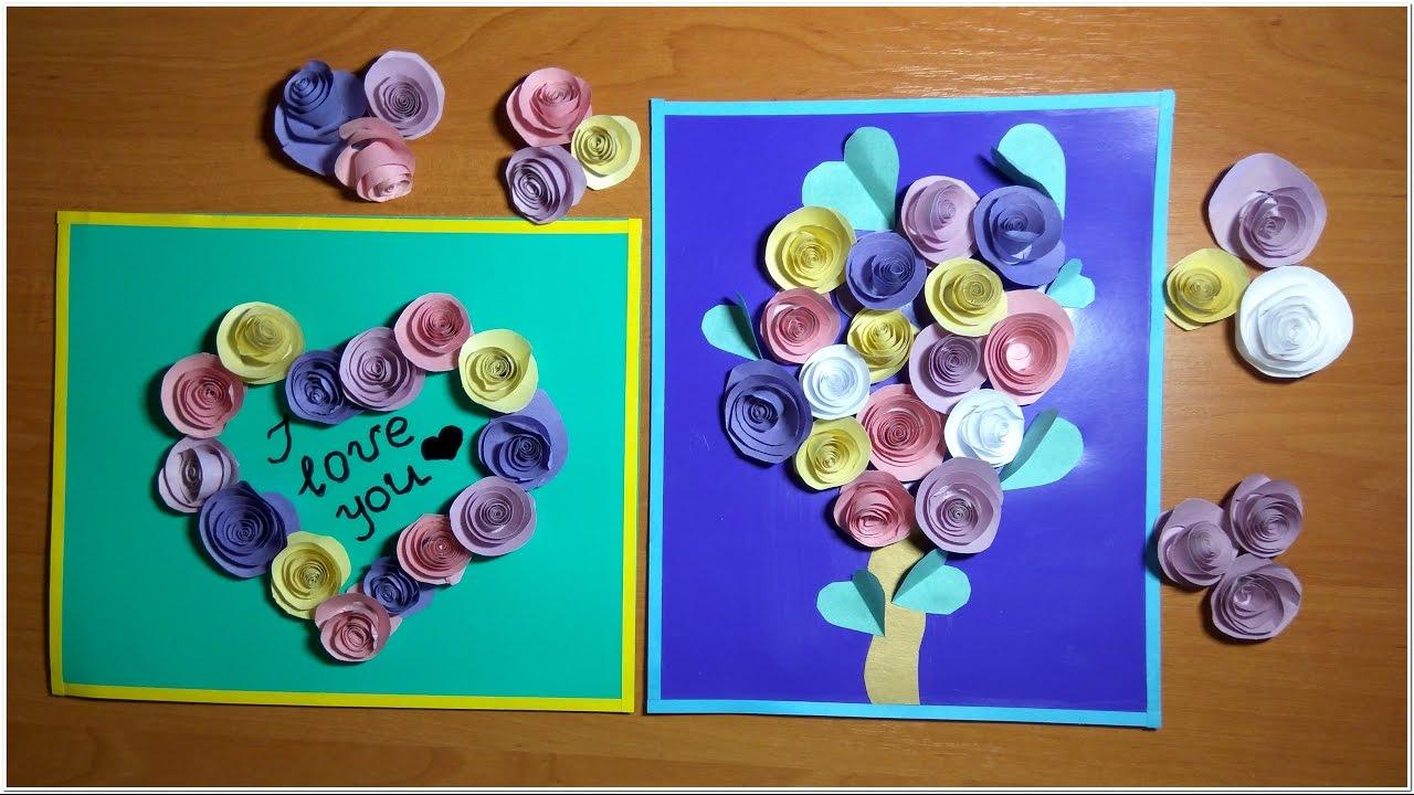 3 д с цветами открытки 119