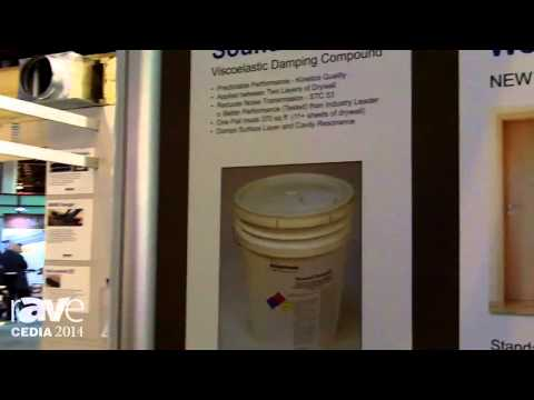 CEDIA 2014: Kinetics Noise Control Introduces Sound Damp2 Damping Compound