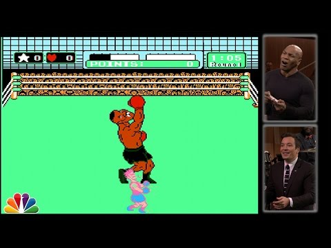 Mike Tyson Tries to Beat Himself in Punch-Out!!