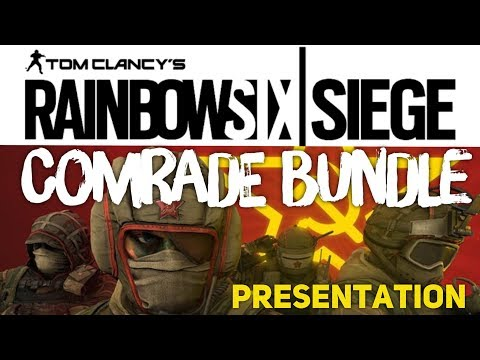 COMRADE HEADGEAR BUNDLE FOR SPEZNAZ OPERATOR - PRESENTATION - Kameraden Paket - Rainbow Six Siege