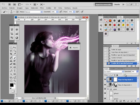 Tutorial Photoshop - Crear efectos de luz en Photoshop
