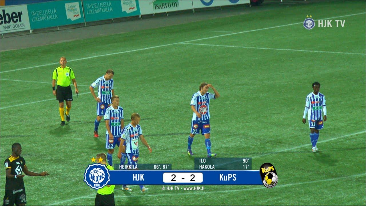 HJK Helsinki 2-2 KuPs