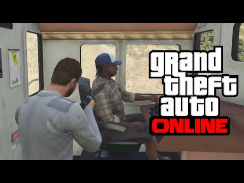 GTA 5 Glitches - 10 Glitches & Tricks on GTA 5 Online (Drive Trains, First Person, Secret Locations)