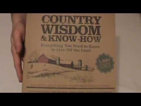 Country Wisdom & Know How Book Review for Homesteading
