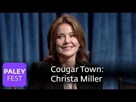 Cougar Town - Is Christa Miller as Feisty as Ellie Torres? (Paley Interview)