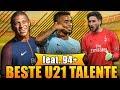 FIFA 18: BESTE TALENTE OHNE TRAINING! 🏆 U21 90+ KADER! 😱 | KARRIERE POTENZIAL | Deutsch mp3 indir